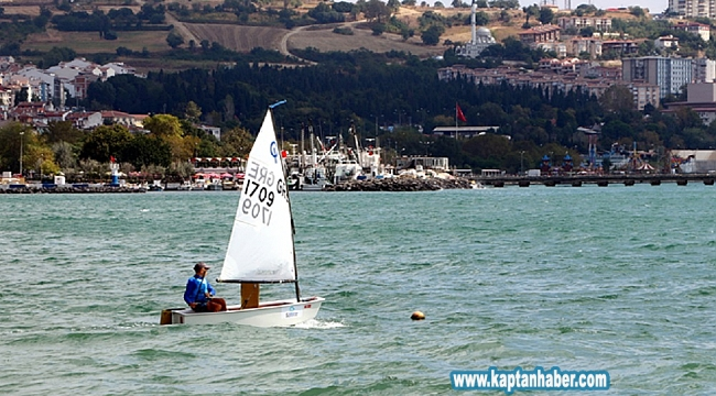 5. Uluslararası Süleymanpaşa Optimist Kupası Yelken Yarışları başladı