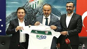 Bursaspor'un yeni sponsoru: BUDO