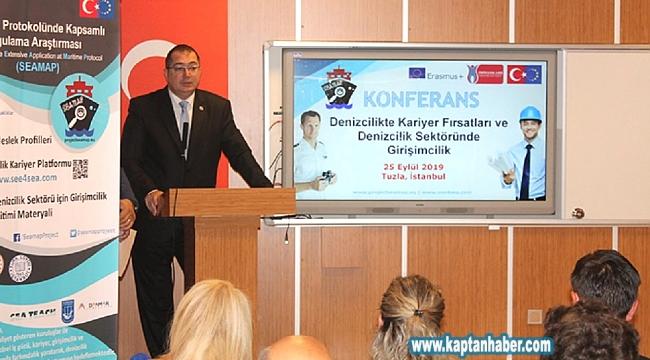 'Denizcilikte Kariyer Fırsatları ve Denizcilik Sektöründe Girişimcilik' konferansı gerçekleştirildi