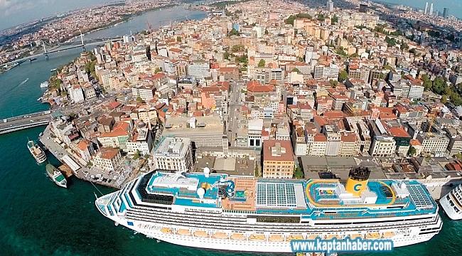 Galataport, Mart ayında gemi kabul etmeye başlayacak