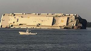 Golden Ray kargo gemisi battı: 4 ölü