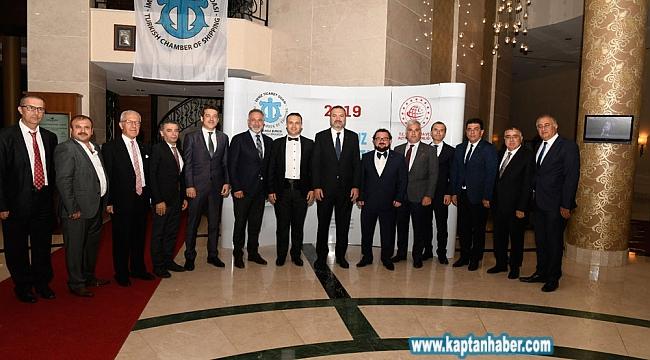 İMEAK Deniz Ticaret Odası İzmir Şubesi Eylül Ayı Meclis Toplantısı