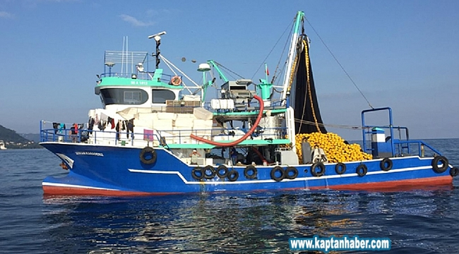 Karadeniz'de 15 balıkçı teknesi denetlendi