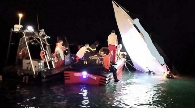 Sürat teknesi kaza yaptı: 3 ölü, 1 yaralı