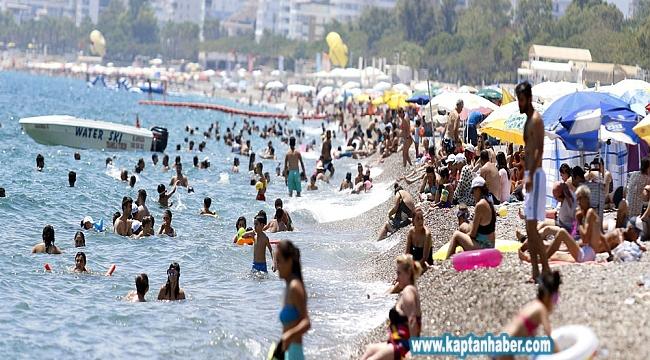 Türkiye'ye 7 ayda 25 milyon turist