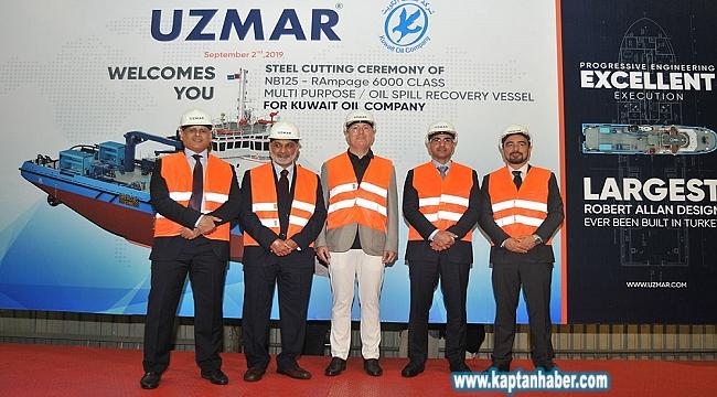 UZMAR, Kuveyt'e römorkör inşa edecek