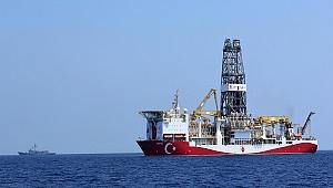 'Yavuz' sondaj gemisi, Taşucu Limanı açıklarına demirledi
