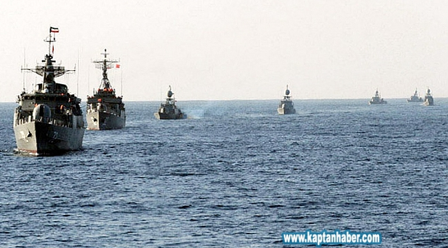 'Amiral Makarov' isimli Rus savaş gemisi, Akdeniz'de gövde gösterisi yaptı