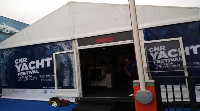 CNR Yacht Festival'i başladı