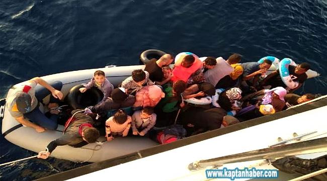 İzmir'de 405 düzensiz göçmen yakalandı