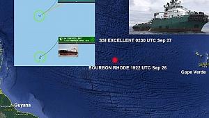 Martinik adası açıklarında gemi battı! 11 mürettebat kayıp