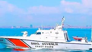 Sahil Güvenlik ekipleri 46 kaçak göçmeni yakaladı