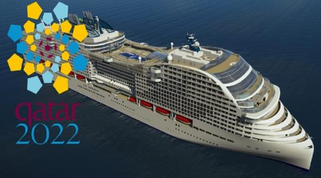 Cruise gemileri Dünya Kupası'nda otel olarak kullanılacak