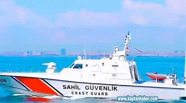 Gemide kalp krizi geçiren mürettebatın imdadına Sahil Güvenlik yetişti
