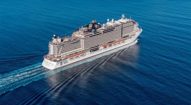 MSC Cruises ilk nötr karbon kullanan global firma oldu