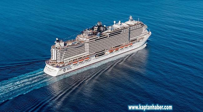 MSC Cruises, MSC Grandiosa'yı teslim aldı