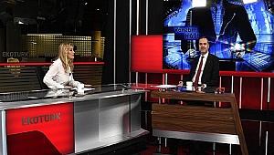 """Tamer Kıran, EKOTÜRK TV'nin """"Yönetim Katı"""" programının konuğu oldu"""