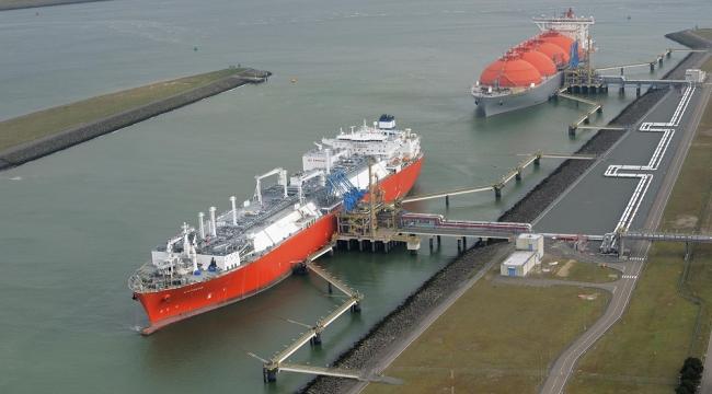 Çinli Suntien, LNG alım terminali inşa edecek