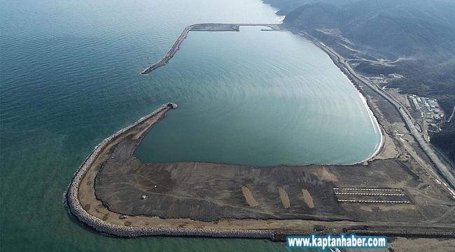 Filyos Limanı Projesi'ninyüzde 90'ı tamamlandı