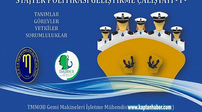 GEMİMO tarafından 'Stajyer Politikası Geliştirme Çalıştayı' düzenlenecek