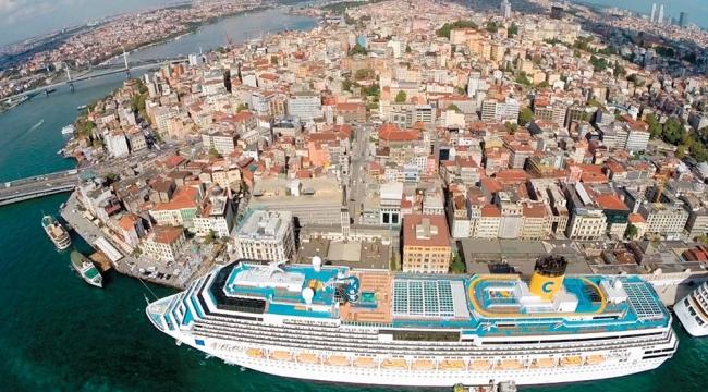 İstanbul'a deniz yolu ile gelen ziyaretçi sayısı yüzde 20 arttı