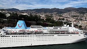 Limanlarımıza 328 kruvaziyer gemisi yanaştı
