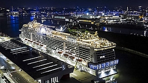 MSC Cruises'in MSC Virtuosa gemisi su ile buluştu