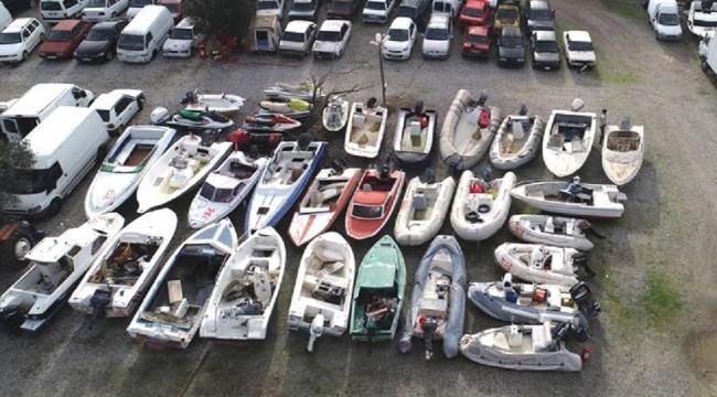 Yalıkavak'taki yediemin otoparkı marinaya döndü