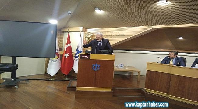 İMEAK DTO Toplantısında Kanal İstanbul