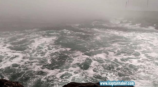 İstanbul'da fırtına etkili oluyor