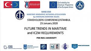 Piri Reis Üniversitesi'nde MINE-EMI semineri 23 Ocak'ta düzenleniyor