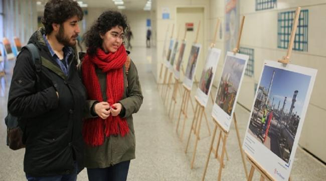 'TürkAkım'ın Öyküsü' metro istasyonunda