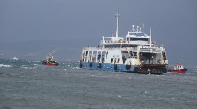 Aydın Kaptan 2 feribotu 5.5 saat sonra kurtarıldı