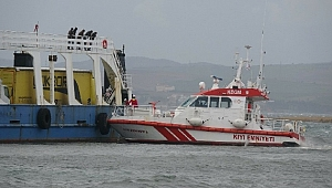Çanakkale'de karaya oturan feribottan 4 yolcu tahliye edildi