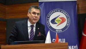 """Çorlu TSO Meclis Başkanı Noyan: """"Bölgemiz tekstil sektörünün adeta başkenti"""""""