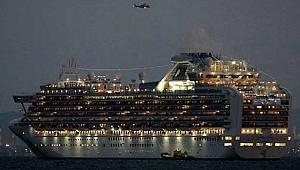 Cruise gemisinde 10 yolcuda korona virüsü tespit edildi, karantina devam edecek