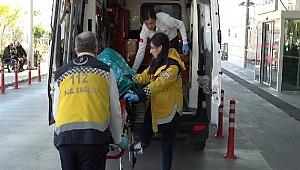 Deniz polisi, boğulma tehlikesi geçiren vatandaşı kurtardı