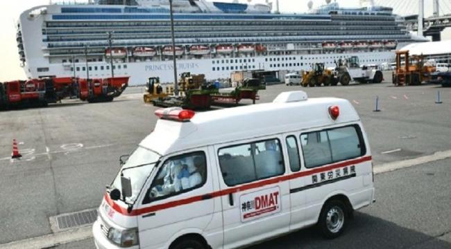 Japonya'daki karantina gemisi ile ilgili yeni gelişme