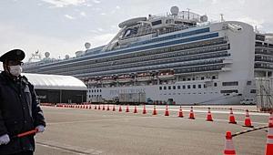 Japonya'daki karantina gemisinde 70 yeni vaka daha kaydedildi