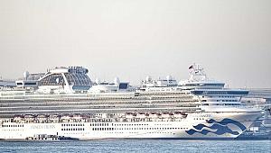 Japonya'daki karantina gemisinden 57 yeni vaka