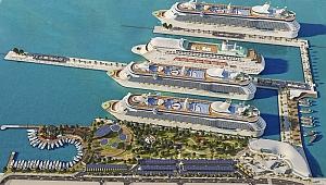 Korona virüs endişesi nedeniyle Kuşadası'na gelecek cruise gemilerinde büyük artış!