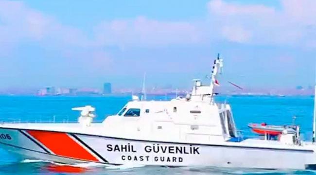 Sahil Güvenlikten düzensiz göçmen operasyonu