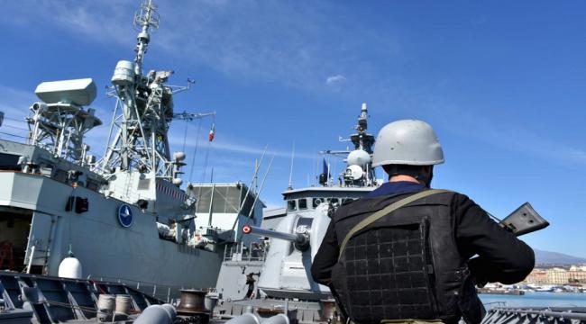 'TCG Salihreis fırkateyni' NATO tatbikatında