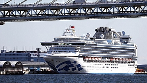 Tokyo'daki karantina gemisinde 60 yeni vaka