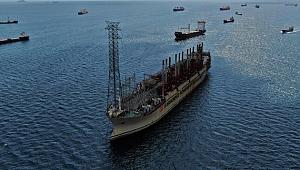 Yüzer NGS Akademik Lomonosov'dan 21 milyon kilovat saatlik elektrik enerjisi