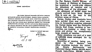 1938 Yılından bir belge ortaya çıktı