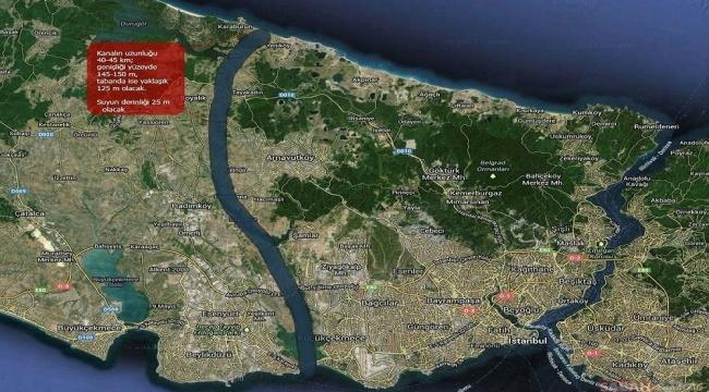 Araştırma Komisyonu Kanal İstanbul raporunu tamamladı