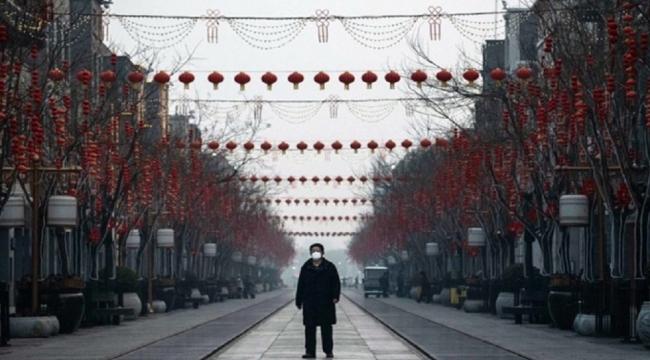 Çin'de havayolu ile taşınan yolcu sayısı yüzde 84,5 azaldı
