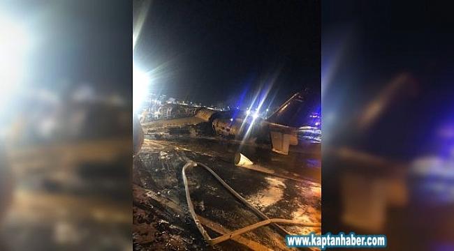 Filipinler'de Bir Uçak Kalkış Sırasında Alev Aldı: 8 Ölü