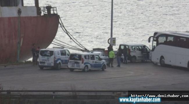 Haydarpaşa Limanında yaşanan hareketliliğin detayları ortaya çıktı